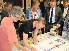Deelnemers interactieve meeting Winkelvisie Nieuwegein